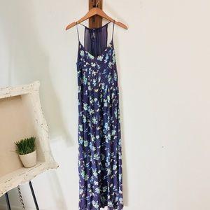 Lauren Conrad Coachella sunrise floral maxi dress